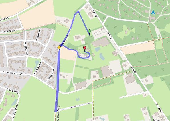 Route Jeugd 1